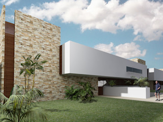 CARCO Arquitectura y Construccion 現代房屋設計點子、靈感 & 圖片 水泥 White