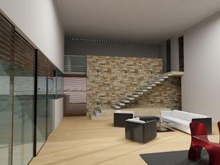 CARCO Arquitectura y Construccion 现代客厅設計點子、靈感 & 圖片 木頭 Beige
