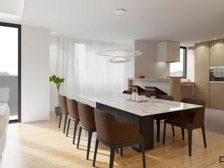 PFS-arquitectura Minimalist dining room