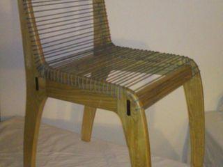 GreenCube Design Pty Ltd غرفة السفرةكراسي ومقاعد خشب