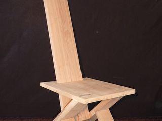 GreenCube Design Pty Ltd غرفة المعيشةكراسي ومقاعد خشب