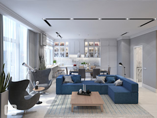 Giovani Design Studio Salones de estilo clásico