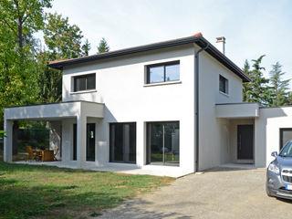 Maison moderniste à la décoration colorée Pierre Bernard Création Maisons modernes