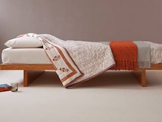 Japanese Style Beds & Bedrooms Natural Bed Company BedroomBeds & headboards Solid Wood Orange