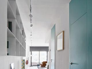 BONBA studio Scandinavian style corridor, hallway& stairs