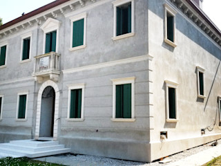 Villa a Barbarano Vicentino Eleni Decor Pareti & Pavimenti in stile classico