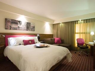 Hampton by Hilton Brand Development Rethink Interiors Ltd Modern hotels