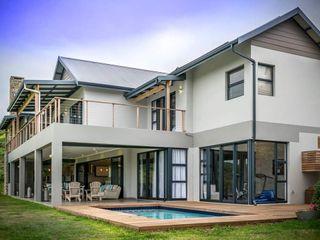 CA Architects Classic style balcony, veranda & terrace