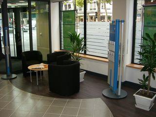 Rehabilitation d'une banque Pierre Bernard Création Espaces commerciaux classiques