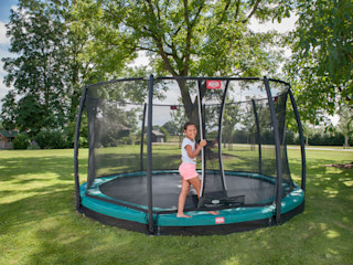 BERG Champion trampoline BERG Toys B.V. Jardin rural Plastique Vert