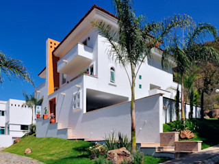 residencia Caballero Excelencia en Diseño Casas coloniales Concreto Blanco