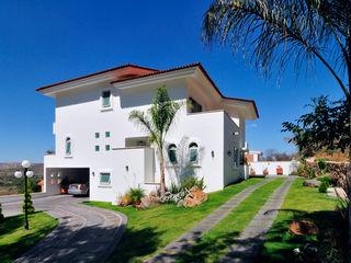 residencia Caballero Excelencia en Diseño Casas coloniales Ladrillos Blanco