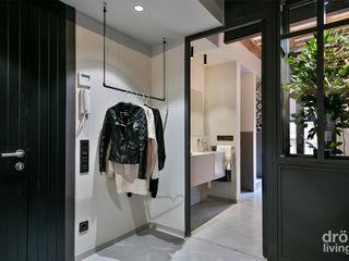 Dröm Living Couloir, entrée, escaliers industriels