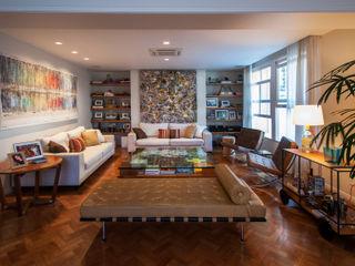 Tato Bittencourt Arquitetos Associados Modern living room