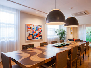 Tato Bittencourt Arquitetos Associados Modern dining room