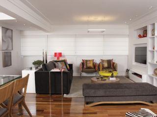 Fernanda Moreira - DESIGN DE INTERIORES Living roomSofas & armchairs Wood Grey