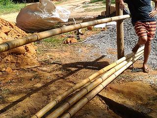 BAMBU CARBONO ZERO 庭院 竹 Wood effect