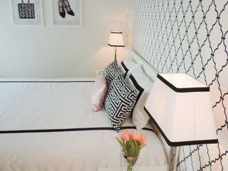 Black&White Espaços Únicos - EU InteriorDecor Quartos modernos Branco