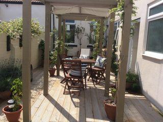 Cottage Garden Transformation Elephant Interior Exterior Design Mediterranean style garden
