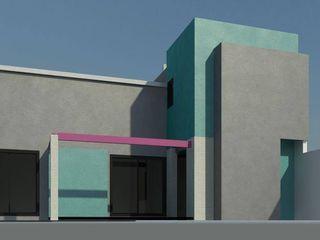 Casa CS 727 Patricio Galland Arquitectura Jardines de estilo ecléctico
