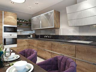 ДизайнМастер Kitchen Brown