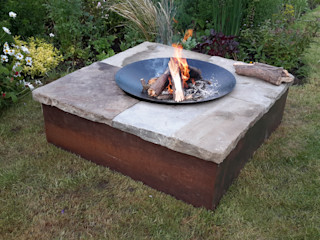 Table firepit Lithic Fire Сад