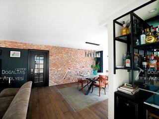 Doğaltaş Atölyesi Living room Bricks