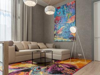 Bellarte interior studio Ruang Keluarga Modern