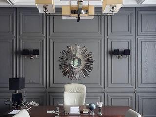 TRIANGLES KAPRANDESIGN Рабочий кабинет в эклектичном стиле Изделия из древесины Коричневый