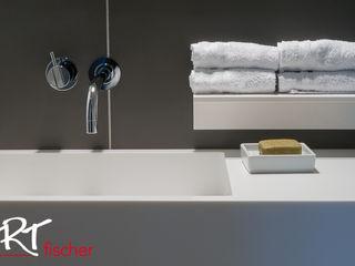 ARTfischer Die Möbelmanufaktur. Moderne badkamers Wit