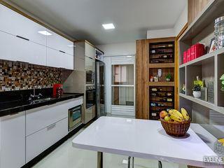 Eveline Maciel - Arquitetura e Interiores Nowoczesna kuchnia