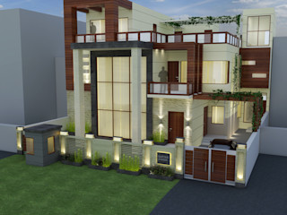 The Brick Studio Asian style houses