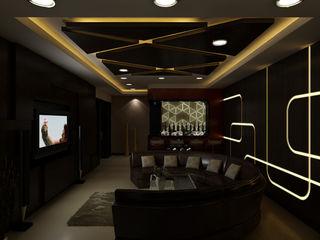 The Brick Studio Modern Media Room