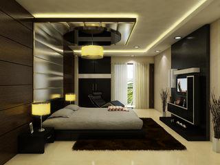 The Brick Studio Modern Bedroom