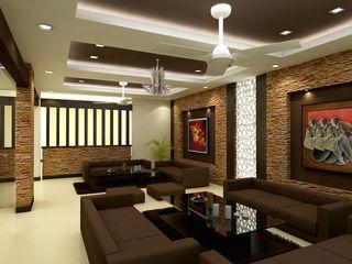 The Brick Studio Modern Living Room