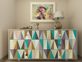 homify Eclectic style corridor, hallway & stairs