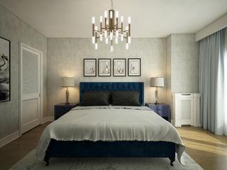 yücel partners Modern style bedroom