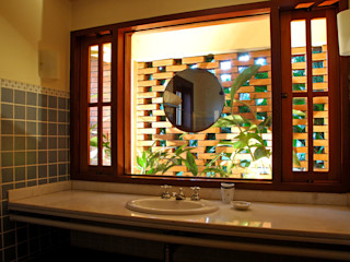 Eduardo Novaes Arquitetura e Urbanismo Ltda. 浴室