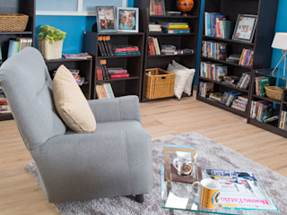 Idea Interior ห้องนั่งเล่นโซฟาและเก้าอี้นวม