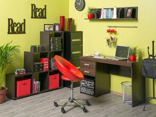 Idea Interior ห้องอ่านหนังสือและห้องทำงานตู้เก็บของและชั้นวาง