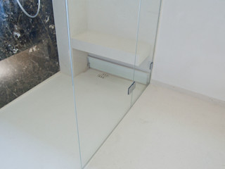 Ströhmann Steindesign GmbH Baños de estilo moderno Caliza Beige