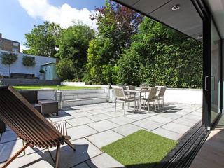 Crouch End Villa PAD ARCHITECTS Modern Garden