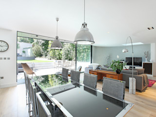 Crouch End Villa PAD ARCHITECTS Modern dining room