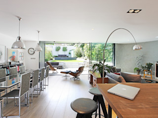 Crouch End Villa PAD ARCHITECTS Modern living room