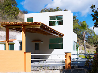 residencia Chapultepec Excelencia en Diseño Casas modernas Concreto reforzado Blanco