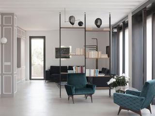 3C+M architettura Salas de estar minimalistas