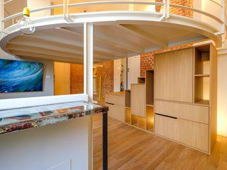 Matteo Gattoni - Architetto Eclectic style living room