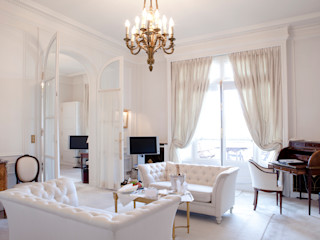 Living Rooms Gracious Luxury Interiors Classic style living room White