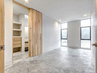 La Desarrolladora Minimalist bedroom Wood White