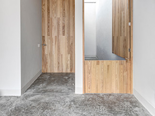 La Desarrolladora Minimalist bedroom Wood Wood effect